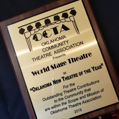 World Stage Receives Award!